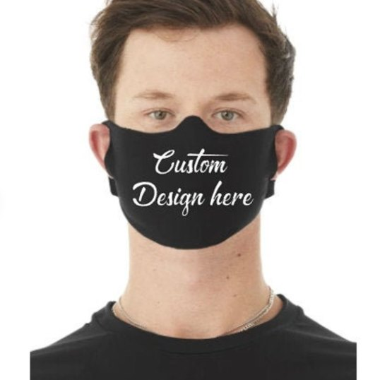 Washable Custom Logo Face Covering