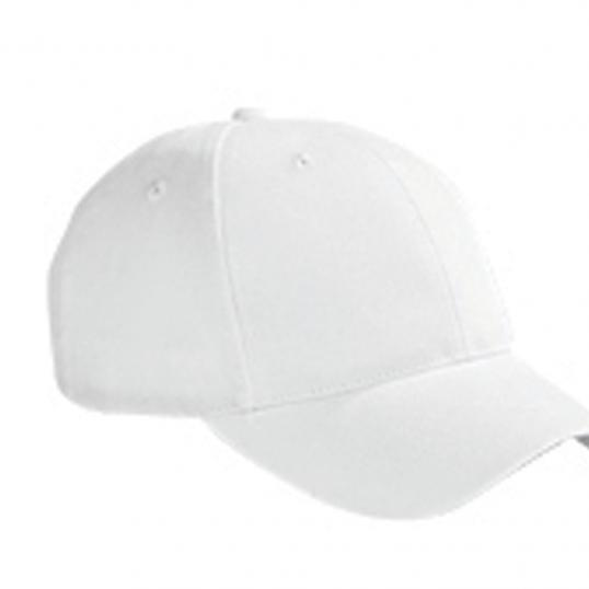 Big Accessories 6-Panel Brushed Twill Structured Cap