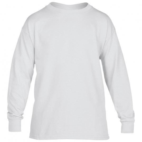 Gildan Youth 5.5 oz., 50/50 Long-Sleeve T-Shirt